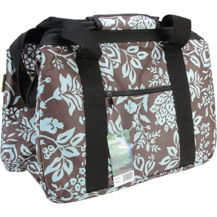 Janetbasket Eco Bag 18 X10 X12 Blue Fl Eb016