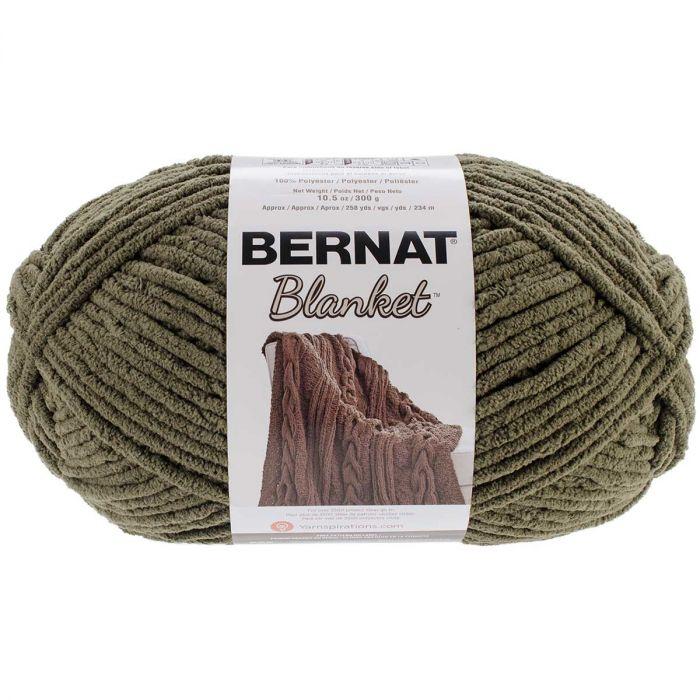 Spinrite 161110-10301 Bernat Blanket Big Ball Yarn-Plum Fields