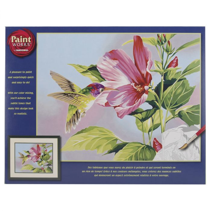 91415 Japanese Garden Dimensions Needlecrafts Paintworks Paint By Number