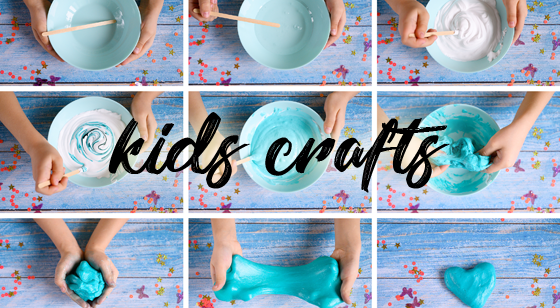 Keep the Kids Busy with some Crafts!