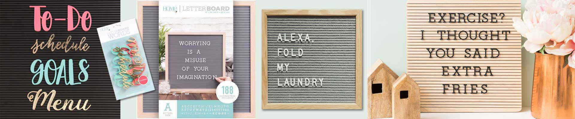 The hottest decor item this year,Letterboards