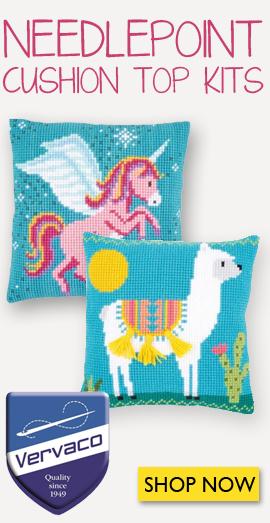 Vervaco Needlepoint Cushions