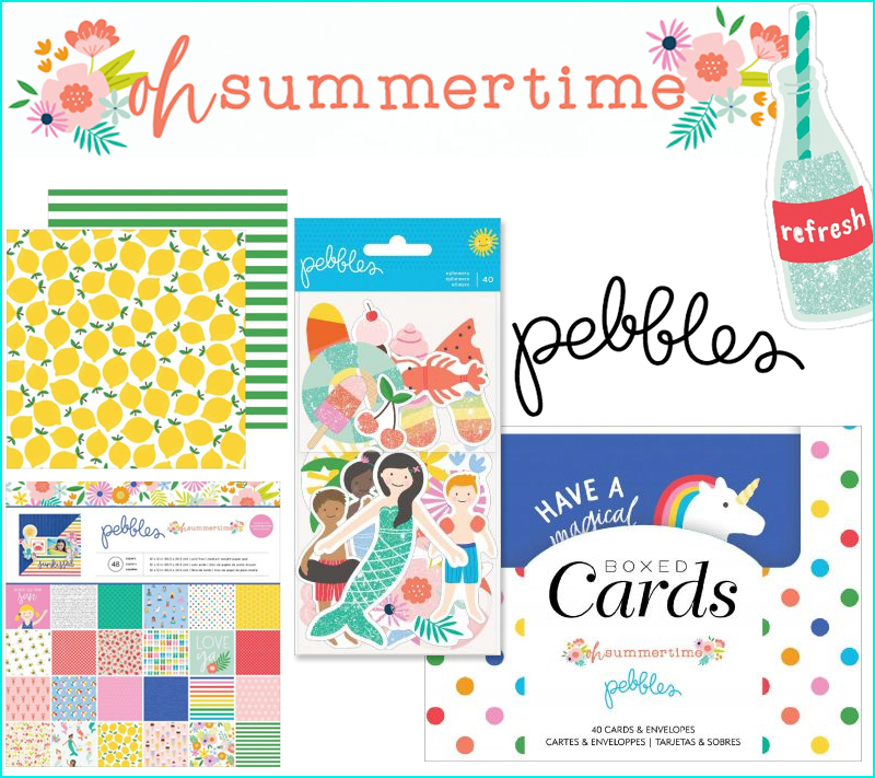 Oh Summertime by Pebbles!