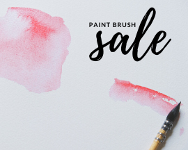 All paint brushes on sale